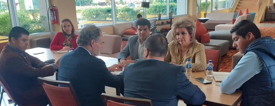 Reunión con el Subsecretario de Empleo y Formación Laboral.